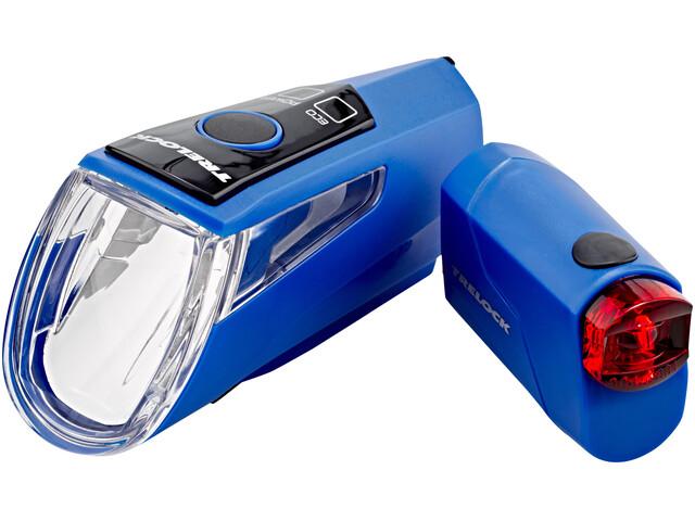 Trelock LS 460 I-GO POWER+LS 720 - Kit éclairage vélo - bleu